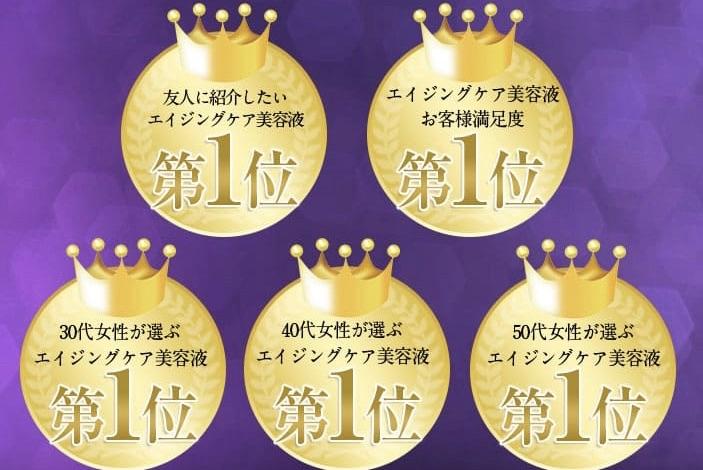 シマボシ レストレーションセラムは5冠達成!