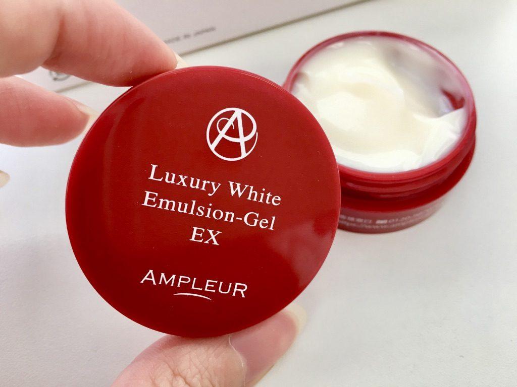 アンプルールラグジュアリーホワイトトライアルキットの美容乳液ゲル エマルジョンゲルEX