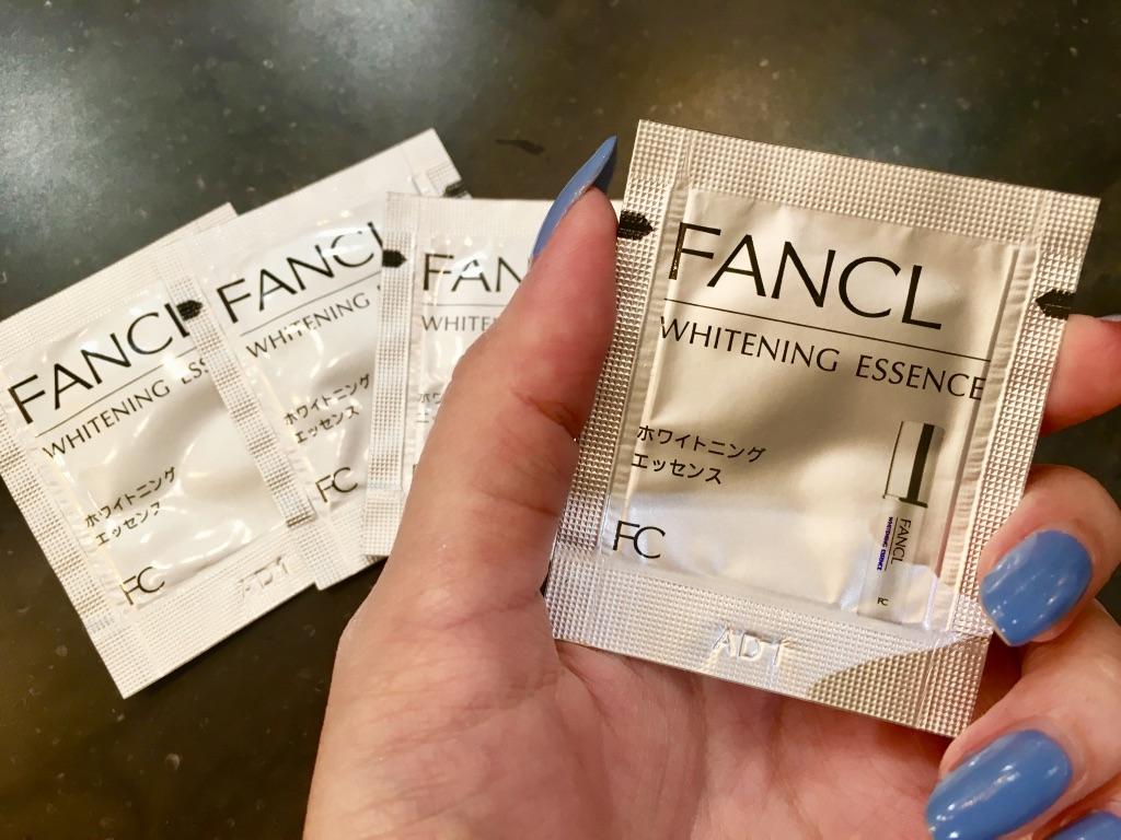 ファンケルホワイトニングエッセンスパウチ<医薬部外品>表面
