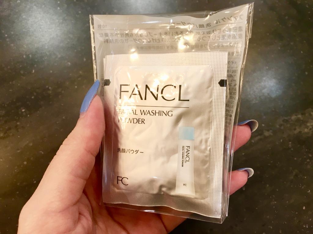 ファンケル洗顔パウダーセット表面