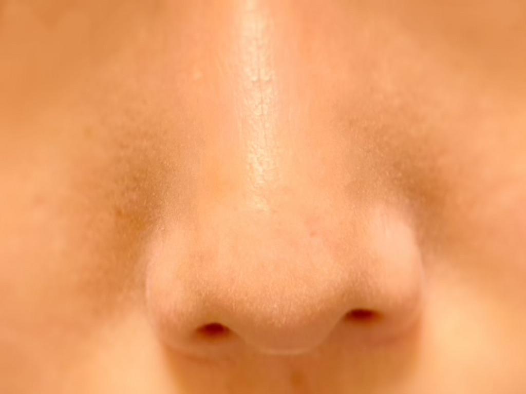 JUSO KURO PACKをする前の鼻